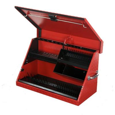 Montezuma 30 in. x 15 in. Portable Aluminum Toolbox in Red
