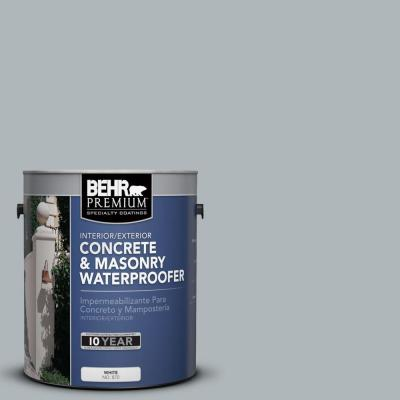 BEHR Premium 1-gal. #BW-56 Silver Jade Concrete and Masonry Waterproofer