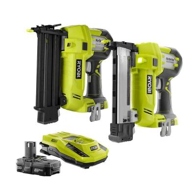 18-Volt ONE+ AirStrike Brad Nailer and Narrow Crown Stapler Combo