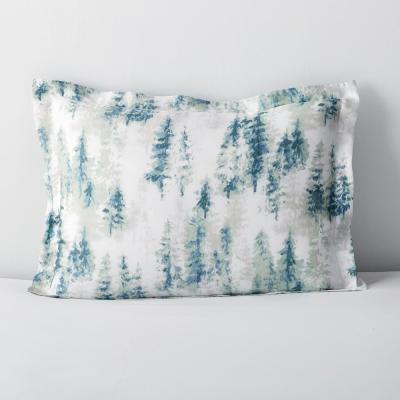 Winter Spruce Graphic 300-Thread Count TENCEL™ Lyocell Sham