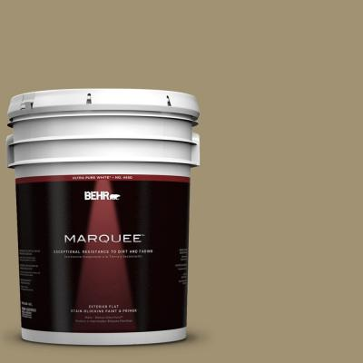 BEHR MARQUEE 5-gal. #380F-6 River Bank Flat Exterior Paint