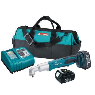 Makita 18-Volt LXT Lithium-Ion Cordless 3/8 in. Angle Impact Wrench Kit