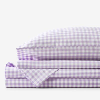 Company Kids™ Gingham 200-Thread Count Organic Cotton Percale Sheet Set