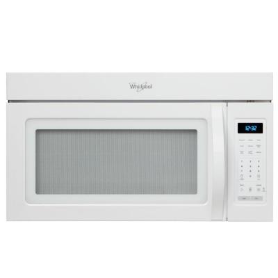 Whirlpool 1.7 cu. ft. Over the Range Microwave in White