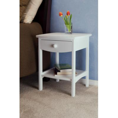 Winsome Claire Accent Table White Finish