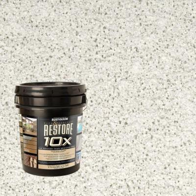 Rust-Oleum Restore 4-gal. White Deck and Concrete 10X Resurfacer