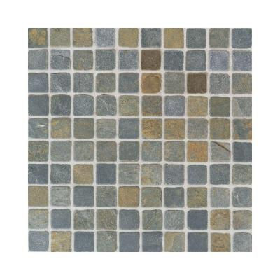 Indian Multicolor 12 in. x 12 in. x 9-1/2 mm Tumbled