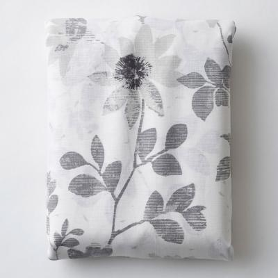 Patio Floral Linen Fitted Sheet