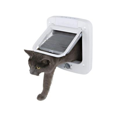 6 in. x 6.25 in. 4-Way Cat Rotary Lock Cat Door Product Photo