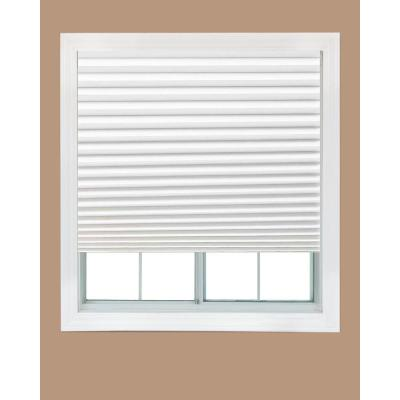 White Fabric Light Filtering Window Shade - 36 in. W x 72 in. L (4-Pack) Product Photo
