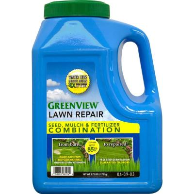 3.75 lb. Lawn Repair Seed, Mulch and Fertilizer Combination Jug Product Photo