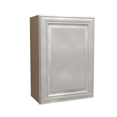 21x30x12 in. Brookfield Assembled Wall Cabinet with 1 Door Right Hand