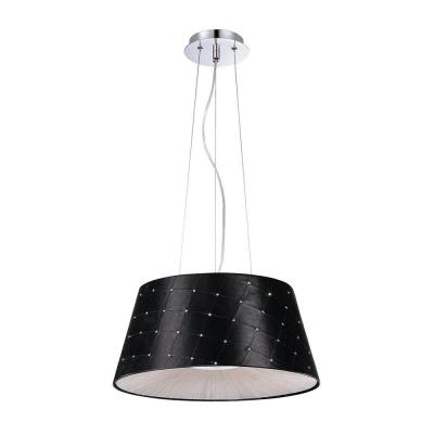 Sasso Collection 2-Light Black Pendant