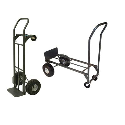 Milwaukee 800 lb. Capacity 2-in-1 Convertible Hand Truck