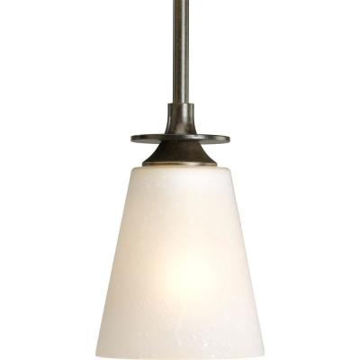 Progress Lighting Cantata Collection 1-Light Forged Bronze Mini Pendant