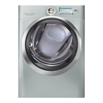 Electrolux Wave-Touch 8.0 cu. ft. Electric Dryer with Steam in Silver Sands