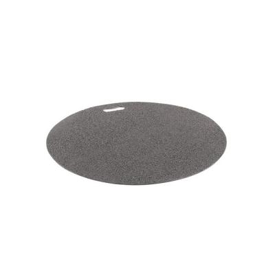 The Original Grill Pad 30 in. Round Granite Gray Deck Protector