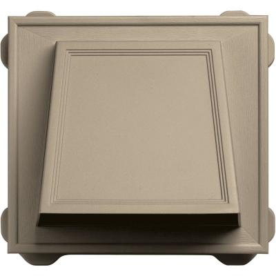 6 in. Hooded Siding Vent #085-Clay Product Photo