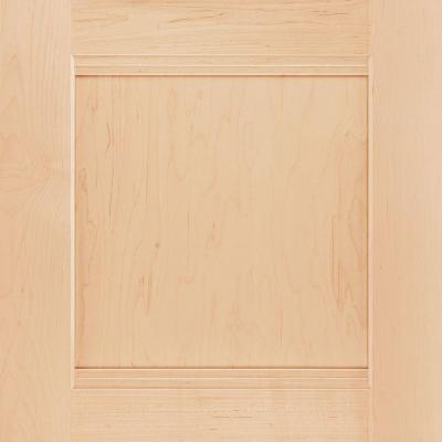 American Woodmark 14-9/16x14-1/2 in. Cabinet Door Sample in Del Ray Maple Natural