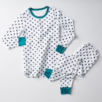 Family Snug-Fit Company Organic Cotton™ Men's Pajama Set in Star