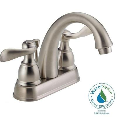 Windemere 4 in. Centerset 2-Handle Bathroom Faucet in Stainless Product Photo