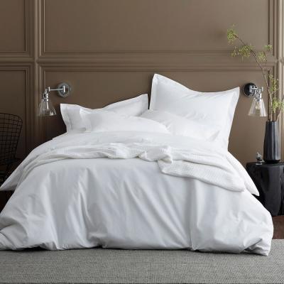 Organic 300-Thread Count Cotton Percale Duvet Cover