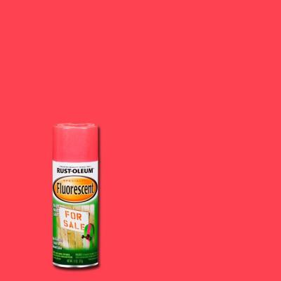 Rust-Oleum Specialty 11 oz. Pink Fluorescent Spray Paint (Case of 6)