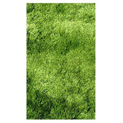 Silky Shag Green 7 ft. 3 in. x 9 ft. 10