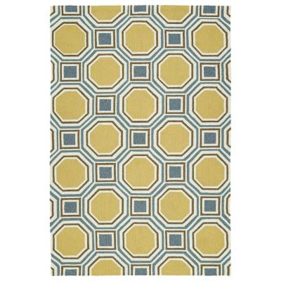 Escape Gold 2 ft. x 3 ft. Indoor/Outdoor Area Rug