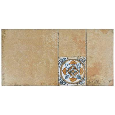 Maison Beige 11 in. x 22-1/8 in. Porcelain Floor and Wall Tile (12.24 sq. ft. / case) Product Photo