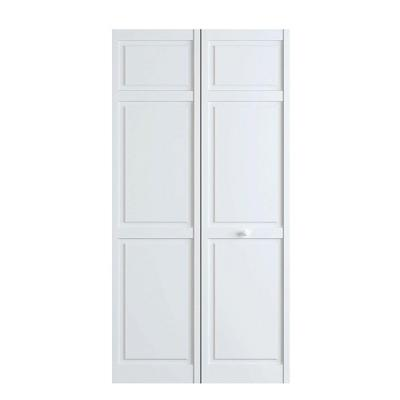 30 in. x 80 in. White 6-Panel Solid Core Wood Interior