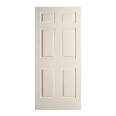 Jeld wen 26 in x 80 in woodgrain 6 panel primed molded Home depot interior doors wood