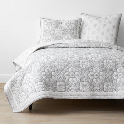 Larkin Multicolored Floral Cotton Quilt