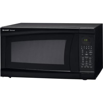 Sharp 2.0 cu. ft. Countertop Microwave in Black with Sensor Cooking
