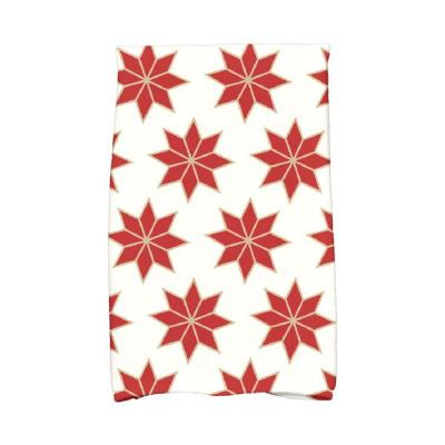 16 in. x 25 in. Christmas Stars-2 Holiday Geometric Print Kitchen Towel