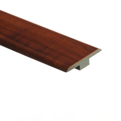Perry Hickory 7/16 in. Thick x 1-3/4 in. Wide x 72 in. Length Laminate T-Molding Product Photo