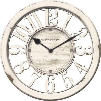 10 in. Antique Contour Wall Clock
