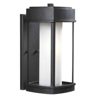 Kenroy Home Sentinel 15 in. Copper Bronze 1-Light Wall Lantern