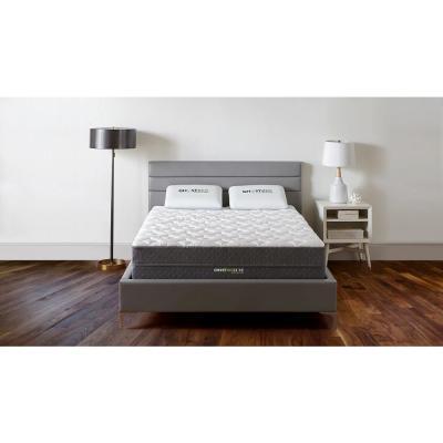 Luxe 13 in. Medium Firm Gel Memory Foam Pillow Top Cooling