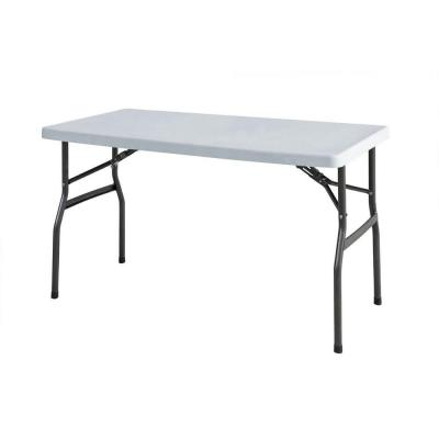 HDX 4 ft. Utility/Banquet Table-TBL-048 - The Home Depot
