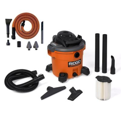 12 Gal. 5 PHP Wet Dry Vacuum with Auto Detail Kit