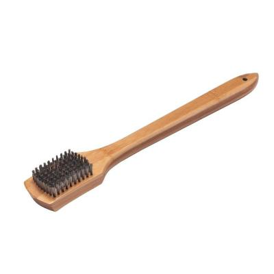 Weber Bamboo Grill Brush with Scraper