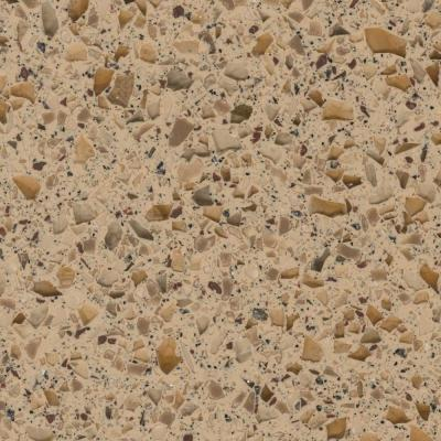 2 in. Solid Surface Countertop Sample in Pluto Product Photo