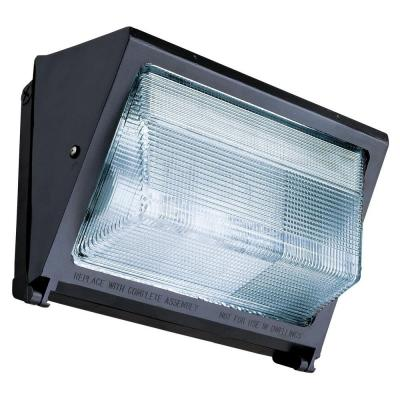 Lithonia Lighting 70-Watt Outdoor Bronze Metal Halide Small Wall Pack