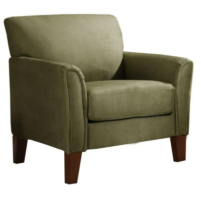 Sage Microfiber Armchair Product Photo