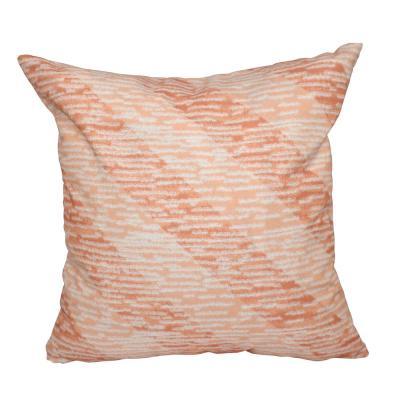 16 x 16-inch,Marled Knit Stripe,Decorative Pillow
