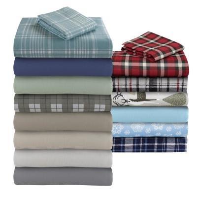 Geraldine 100% Cotton Flannel Sheet Set