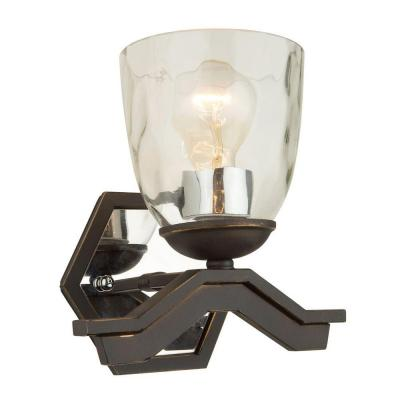 Wasson 1-Light Oil-Rubbed Bronze Sconce