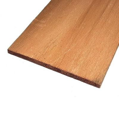 Western Red #1 Cedar Shingle (Common: 16 in.; Actual: 0.312 in. x 15.875 in.) Product Photo
