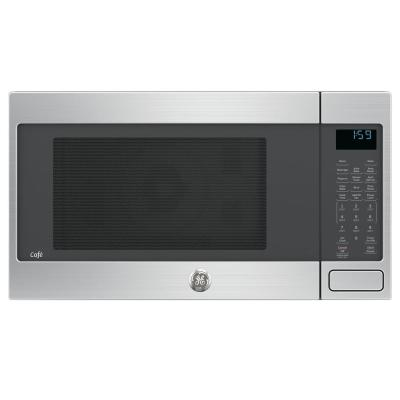 GE Cafe 1.5 cu. ft. Countertop Convection Microwave Oven in Stainless Steel